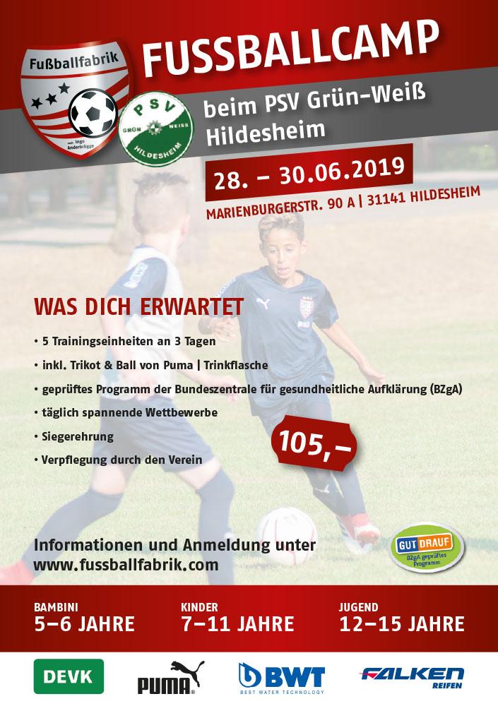 Fußballfabrik in Hildesheim